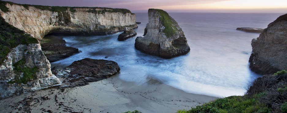 Shark Fin Cove, Santa Cruz