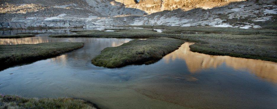Meandering Stream, Eastern Sierra