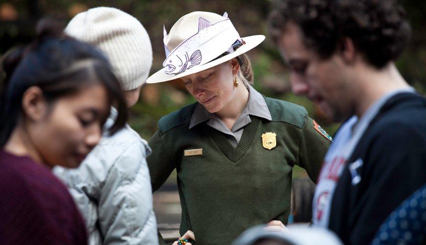 Muir Woods Ranger